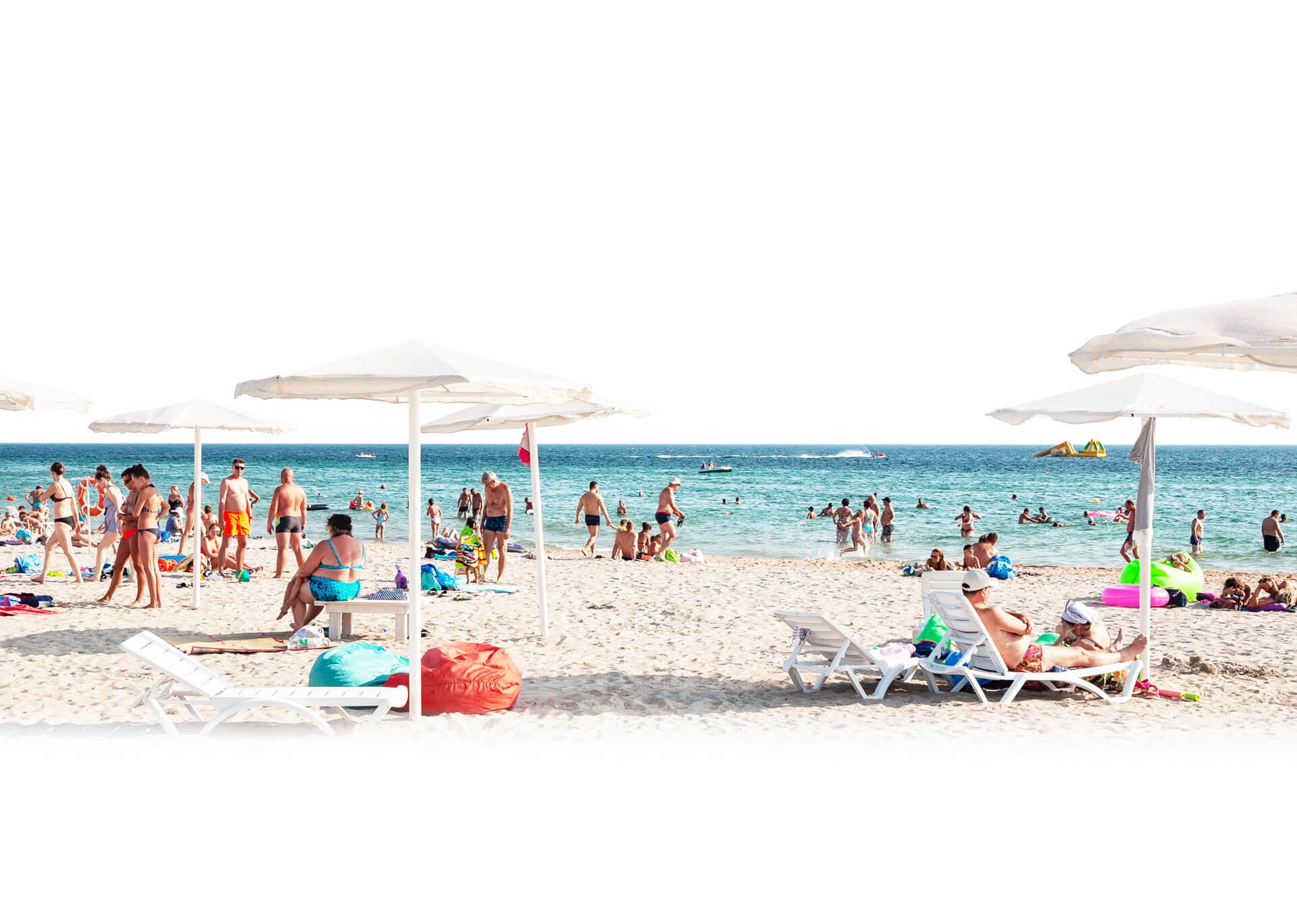 Крым, Евпатория, Штормовое, Это пляж Штормового, фото 1 | Гомель ... | 1368x1920